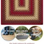 Braided Country Area Rugs RugSmart 1