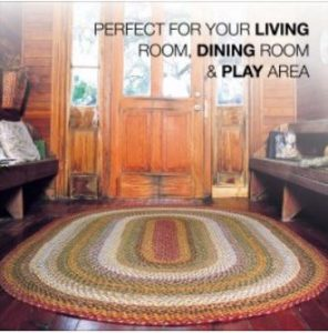 Braided Country Area Rugs RugSmart 3