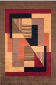 RugSmart Contemporary Area Rugs nw06