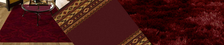 burgundy rug dfcf home modern product circles x free garden area rugs maroon