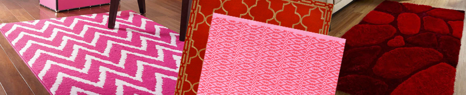 Red And Pink Rugs
