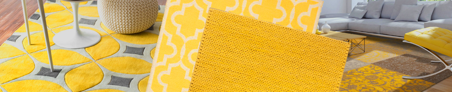 Yellow And Gold Rugs