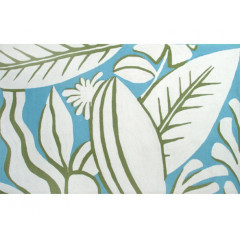 The Rug Market Tropicana 25368D Blue Grn White