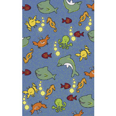 Fun Rugs - Night Flash Nf-13 Multi-Color