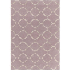Chandra Davin DAV-25844 Light Purple/White
