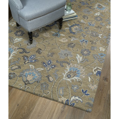 Kaleen Rugs Helena Collection 3208-82 Lt.Brown