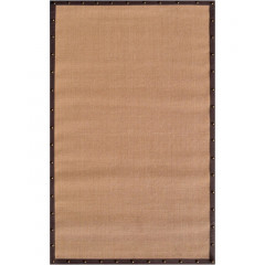 The Rug Market Brown Border 23319D Tan Brown