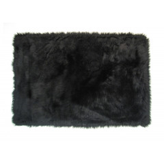Fun Rugs - Flokati Flk-007 Black