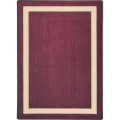 Joy Carpet - Portrait Kid Essentials - Misc Solid Color Area Rugs Heather