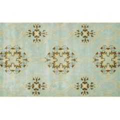 The Rug Market Beacon Hill 44259D Teal Brwn Yllow