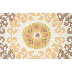 The Rug Market Suzani 25449D Yllw Gold White