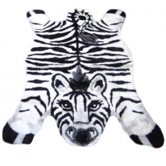 Walk On Me - Zebra Playmat Black, White And Gray