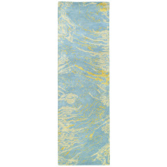 Kaleen Rugs Brushstrokes Collection BRS01-17 Blue