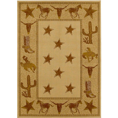 Mayberry Hearthside Cowboy Up(HS7662) Beige