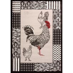 United Weavers Of America - Cristall Bw Rooster  Grey