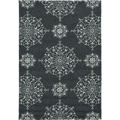 KAS Rugs Harbor HAR4207 Charcoal