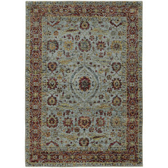 Oriental Weavers Rugs ANDORRA A7155A Blue/ Red