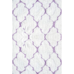 The Rug Market Clouds 03101B White Pink
