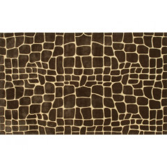 The Rug Market Croc 72301D Brown Gold