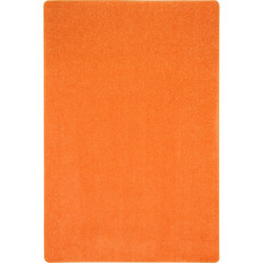 Joy Carpet - Just Kidding Kid Essentials - Misc Sold Color Area Rugs Tangerine Orange