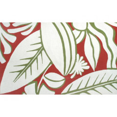 The Rug Market Tropicana 25381D Red Grn White