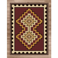 American Dakota Rugs Voices 0160RED Red