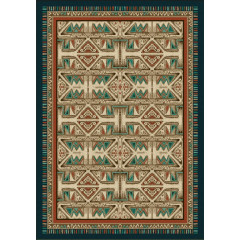 Colorado Carpets - Arizona Trails Points West Teal