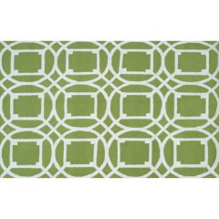 The Rug Market Telescope 25464D Green White