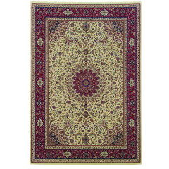 Oriental Weavers Rugs ARIANA A095J3 Ivory/ Red