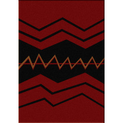 American Dakota Rugs Voices 0013RED Red