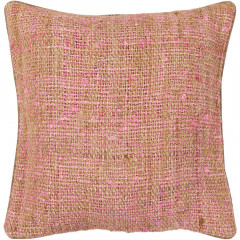 Chandra Pillows CUS-28013 Pink/Natural