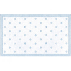 The Rug Market Polka Dots 11409B Light Blue