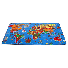 Learning Carpet - Play Where In The World  Multi