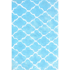The Rug Market Cloture 03104B Blue White