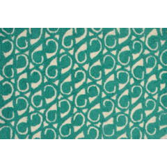 The Rug Market Yang Pa0097 Teal White