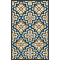 Central Oriental - Tributary Freya Latte-Blue