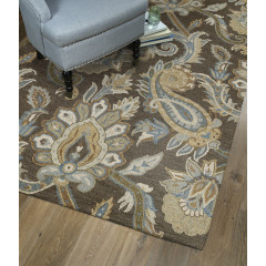 Kaleen Rugs Helena Collection 3204-49 Brown