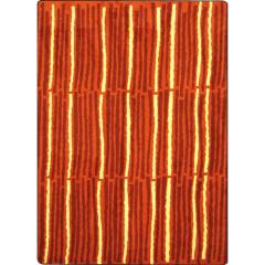 Joy Carpet - Cascade Kid Essentials - Teen Area Rugs Orange