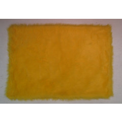 Fun Rugs - Flokati Flk-005 Yellow