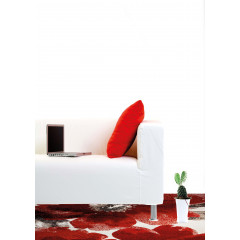 Dynamic Rugs INFINITY IN350211250 Ivory/Red