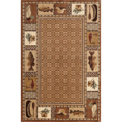 Central Oriental - Lodge Rennisance Okena Brown-Beige
