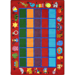 Joy Carpet - Alphabet Phonics Kid Essentials - Early Childhood Red