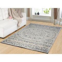 Dynamic Rugs DARCY DC1126157 Ivory/Blue/Gold