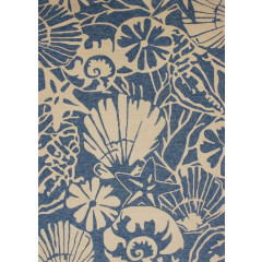 Central Oriental - Sanibel Seabottom Blue-Cream