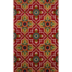 Central Oriental - Terrace Tropic Bluffton Coral-Tangerine