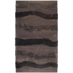 The Rug Market Moreno Chocolate 48005D Chocolate Brown