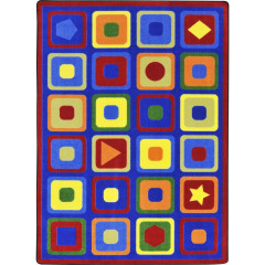 Joy Carpet - Seeking Shapes Kid Essentials - Early Childhood Multi