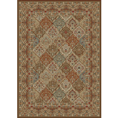 Mayberry Rugs Home Town HT7948 Panel Kerman Chocolate
