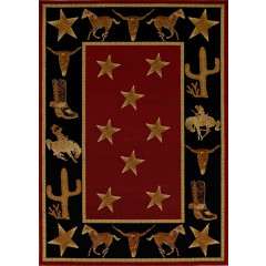 Mayberry Hearthside Cowboy Up(HS7663) Red