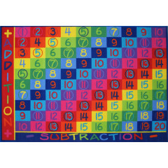 Fun Rugs - Fun Time Ft-142 Multi-Color